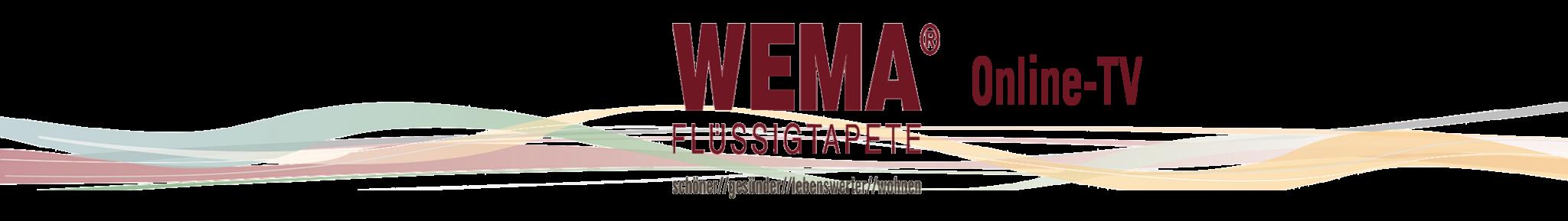 WEMA Flüssigtapete TV